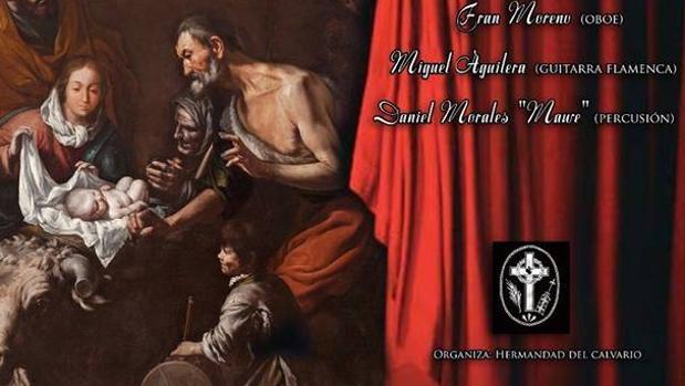 Cartel del concierto de Villancicos del Calvario