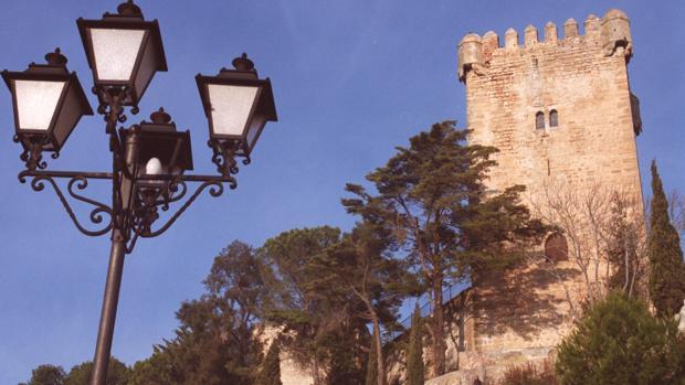 Imagen del Castillo de Montemayor, que no es visitable