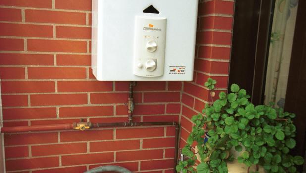 Instalación de gas en una casa particular