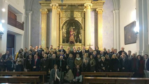 Representantes de las hermandades salesianas en Pozoblanco