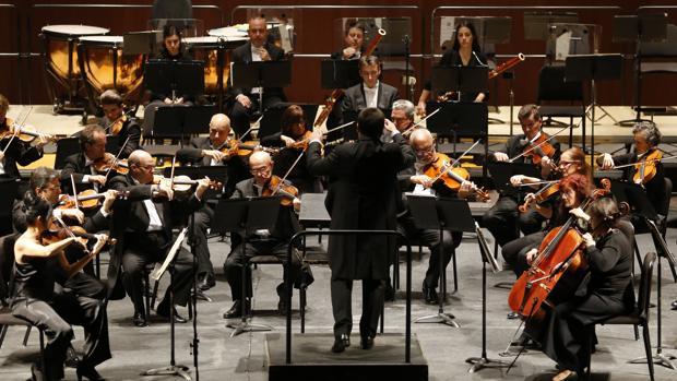 Actuación de la Orquesta de Córdoba en el Gran Teatro