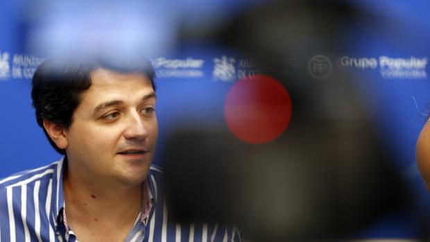 José María Bellido, en una comparecencia