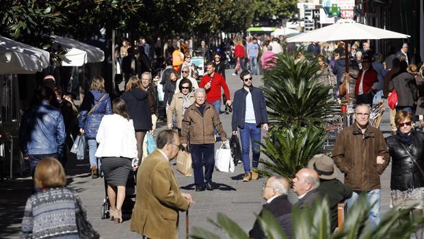 Imagen de la céntrica calle Cruz Conde dond ocurrieron los hechos