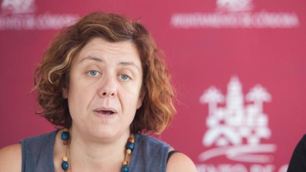 La concejal de IU Alba Doblas