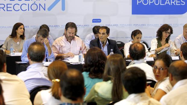 Nieto preside una junta directiva provincial del PP