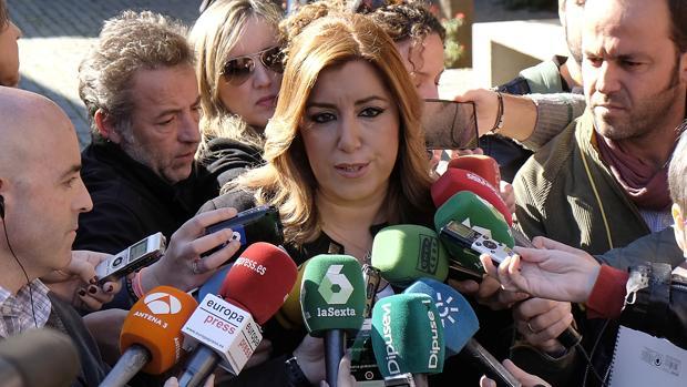 Susana Díaz en la inauguración de la feria de la innovación en Sevilla
