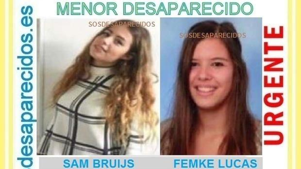 Halladas en buen estado en Portugal las dos menores holandesas que llegaron solas en avión a Málaga