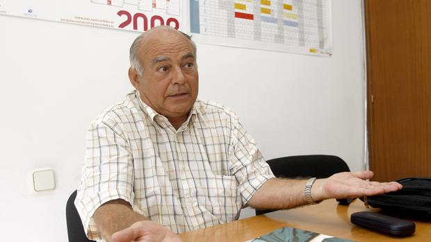 El padre Lázaro, presidente de Proyecto Hombre