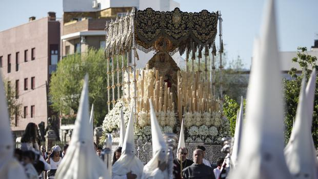 Virgen de la Merced un Lunes Santo