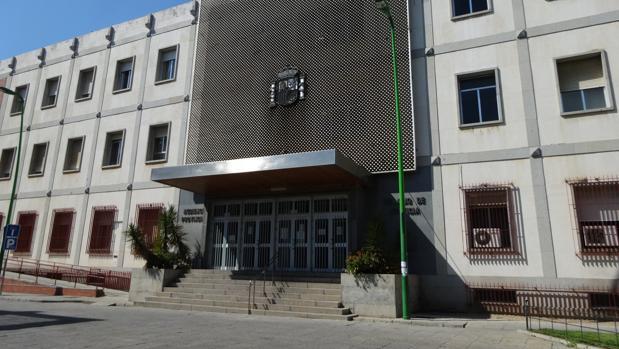 La fachada de la Audiencia Provincial de Córdoba