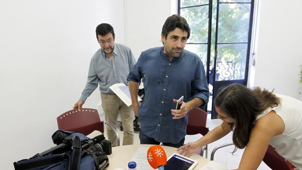 El concejal de Servicios Sociales, Rafael del Castillo