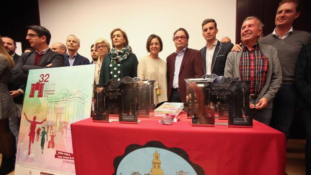 Presentación de la Media Maratón de Córdoba, que se celebra este domingo