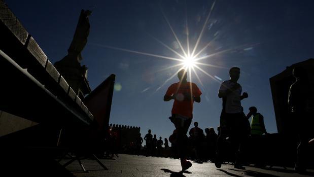 El sol brilla en la Media Maratón de Córdoba de la edición de 2015