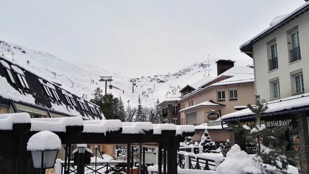 Estación de esquí de Sierra Nevada este martes