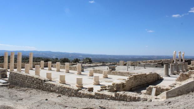 Yacimiento de Torreparedones en Baena