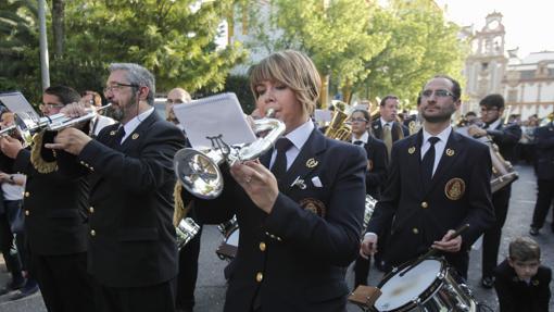 Músicos de la banda Nuestra Señora de la Estrella