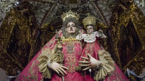 Besamanos de la Virgen de Araceli