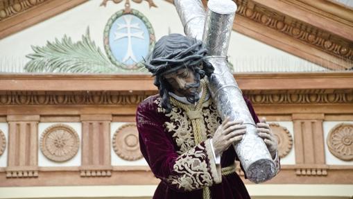 Nazareno de la Rambla, durante su procesión extraordinaria