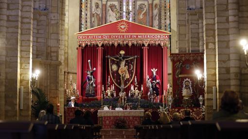 Quinario extraordinario de las hermandades de San Lorenzo