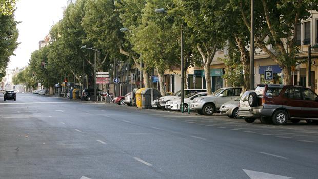 Avenida del Gran Capitán, en el centro de Córdoba