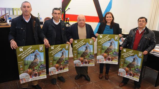 Presentación de la IV Feria de la Perdiz con Reclamo, que se celebrará en Cabra