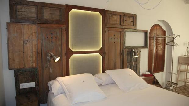 Una de las habitaciones del hotel Madinat