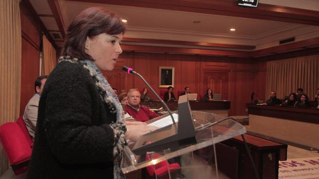 Ruth Ortiz, en el Ayuntamiento