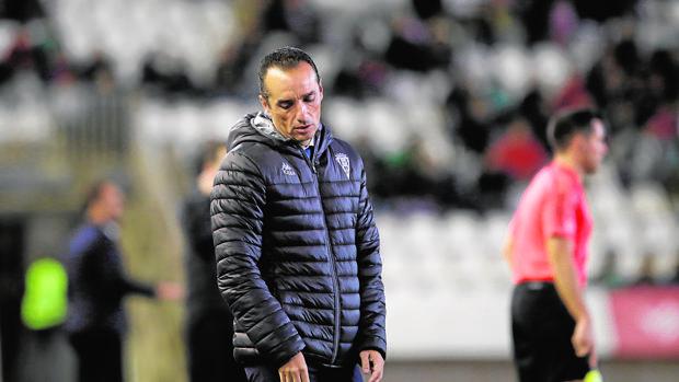 José Luis Oltra durante su último partido