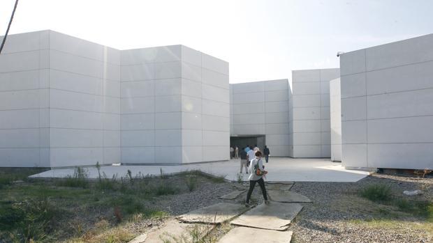 Entrada al Centro de Creación Contemporánea de Andalucía