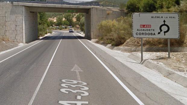 Carretera donde ha tenido lugar el suceso