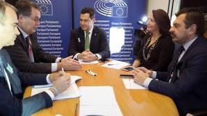 Díaz y Moreno, desencuentro en Bruselas