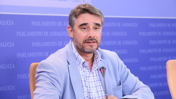 El parlamentario andaluz por Podemos, Juan Ignacio Moreno Yagüe