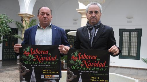 Presentación del cartel del evento en Belalcázar