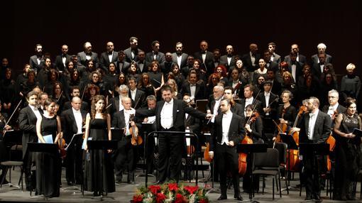 Lorenzo amos al frente de la Orquesta de Córdoba