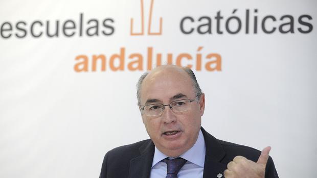 Carlos Ruiz, secretario general de Escuelas Catrólicas de Andalucía
