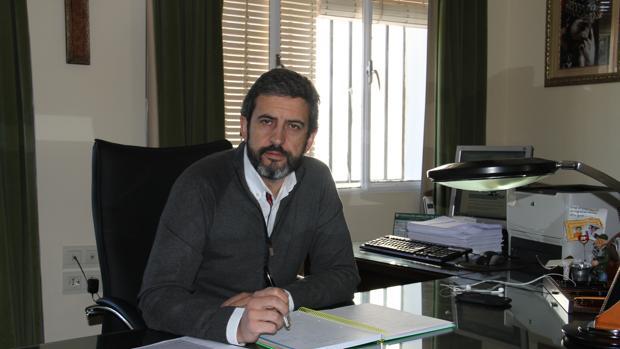 José María Mancheño, presidente de la Federación Andaluza de Caza