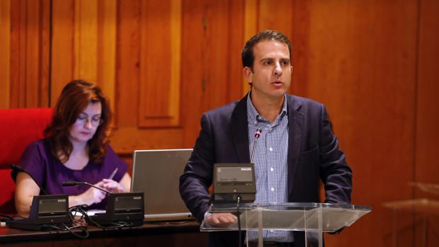 Rafael Carlos Serrano en el debate sobre el estado de la ciudad