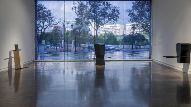 Obras de Pepe Espaliú en la exposición en el IVAM