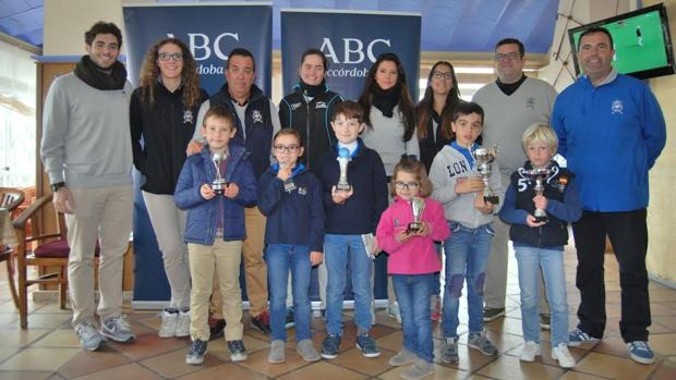 Entrega de premios a los ganadores del Memorial Juanma