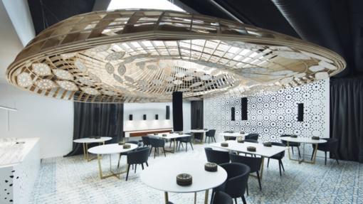 Interior del restaurante Noor en Córdoba