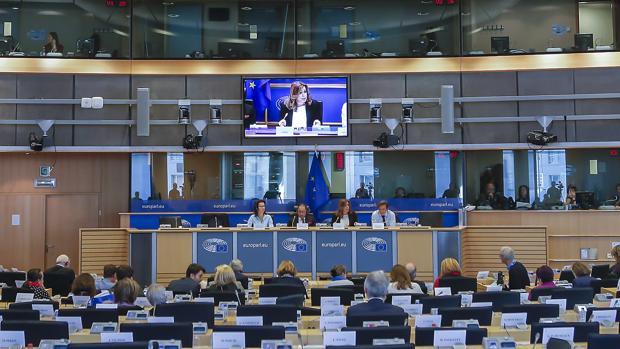 Susana Díaz en la capital económica de la UE