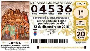 El segundo premio de la Lotería de Navidad cae muy repartido por las ocho provincias de Andalucía