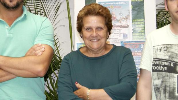 La alcaldesa independiente de Isla Cristina, Antonia Grao