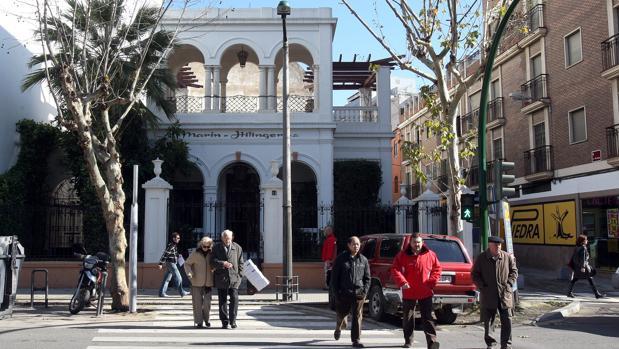Imagen de la que fue última casa de Manolete, en la avenida de Cervantes, número 10