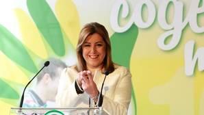 Susana Díaz desembarca en Madrid revestida de lideresa nacional