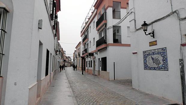 Las calles feria y castelar de palma del r o ser n un eje for Calle palma del rio malaga