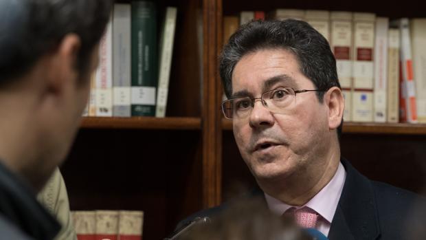 En la imagen, Pedro Izquierdo