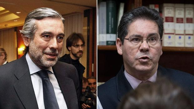 Enrique López, apartado del juicio de la Gürtel. A la derecha, Pedro Izquierdo