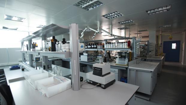 Instalaciones de los Laboratorios Pérez Giménez