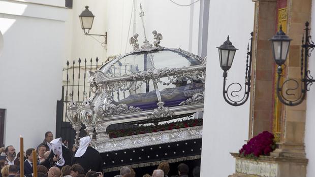 Santo Entierro celebra sus cultos de Cuaresma